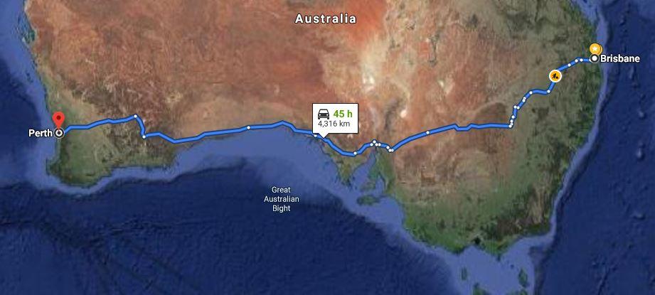 Moving Company Brisbane to Perth